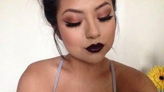 getlinkyoutube.com-Full Face + Bold Lip