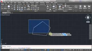 getlinkyoutube.com-AutoCAD Seven Day Tutorial - Day1 Lesson4 - Polylines, Ellipse, Fillet, Chamfer