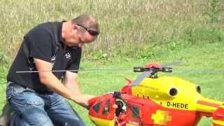 getlinkyoutube.com-Huge R/C Scale Ec-145 Medicopter 117 at Heliflightday Dulliken 2014