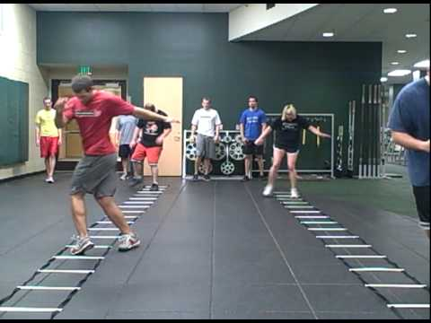 BASIC SPEED LADDER DRILLS