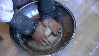 澤蕎麦(まったく練らないで作る蕎麦)の十割、500g9℃52% 130125