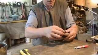 getlinkyoutube.com-Изготовление ножа, часть 7, заключительная - ножны...