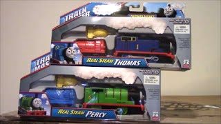 Thomas and Friends: Real Steam Thomas and Real Steam Percy Unboxing