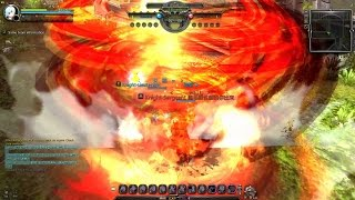 getlinkyoutube.com-Dragon Nest Dark Avenger vs Shooting Star Lv.90 EXi PvP Showcase