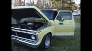getlinkyoutube.com-1974 Ford Ranger lowered