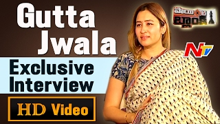 Gutta Jwala Exclusive Interview || Personal Career || Sports and Movies || NTV
