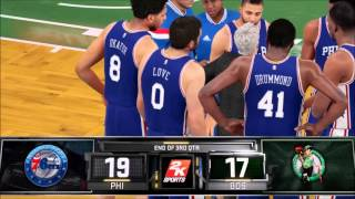 getlinkyoutube.com-NBA 2K16 My GM Mode Ep.2 - | Philadelphia 76ers Playoff Interest In Our Hands?