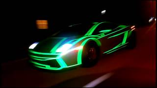 TRON Lamborghini Gallardo by #201WRAP