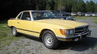 getlinkyoutube.com-1973 Mercedes-Benz 450SL Start Up, Exhaust, and In Depth Tour