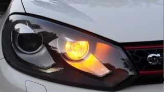 getlinkyoutube.com-Front LED Turn Signals for Golf VI