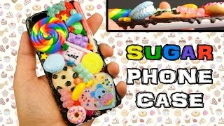getlinkyoutube.com-DIY DELICIOUS SWEETS CANDY PHONE CASE Watch Me Decoden