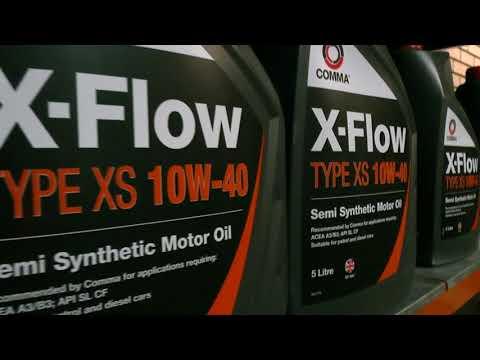 Comma X-Flow XS 10W-40: в чём секрет настоящего качества по-английски