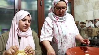 getlinkyoutube.com-الرفيسة المغربية من إيد ماما + حديث او مغزل ههههه مع طبخ ليلى