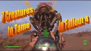getlinkyoutube.com-7 More Creatures You Can Tame in Fallout 4