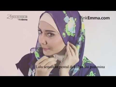 Tutorial Hijab Pashmina Zaskia Sungkar: Tampil Chic Dengan Hijab Floral