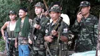 getlinkyoutube.com-Alain Bambo meets the Karen Army - Burma - Trailer