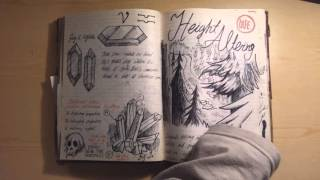 getlinkyoutube.com-Gravity Falls journal 3 replica flipthrough