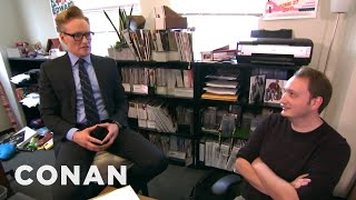 getlinkyoutube.com-Conan Gives Staff Performance Reviews  - CONAN on TBS