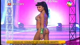COMBATE Desfile de Infarto en Bikini [Combate es Bacan] 23/08/13