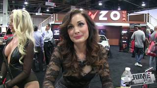 getlinkyoutube.com-Highlights from SEMA Auto Show - Cars & Hot Girls