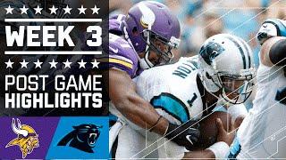 getlinkyoutube.com-Vikings vs. Panthers   NFL Week 3 Game Highlights