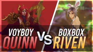 單挑啦!! Voyboy 葵恩 vs Boxbox 雷玟