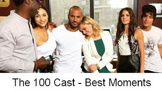 getlinkyoutube.com-The 100 Cast - Best moments