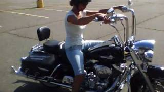 getlinkyoutube.com-My   first ride on  ( Fat Boys) Road King.mp4