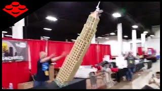getlinkyoutube.com-EPIC LEGO Skyscraper Crashing to the Floor