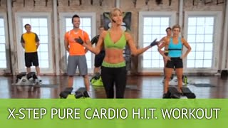 getlinkyoutube.com-X-Step Pure Cardio H.I.T. Workout with Brenda DyGraf
