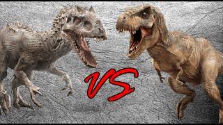 getlinkyoutube.com-Indominus Rex vs Tyrannosaurus Rex