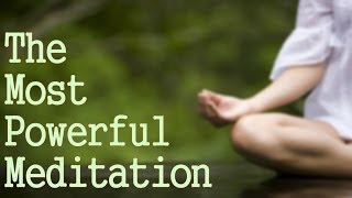 getlinkyoutube.com-The Most Powerful Meditation You Can Do! ( Connect with God!)
