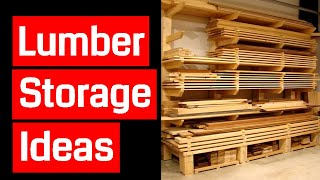 getlinkyoutube.com-Lumber Storage Ideas