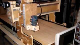 getlinkyoutube.com-DIY CNC Router Build