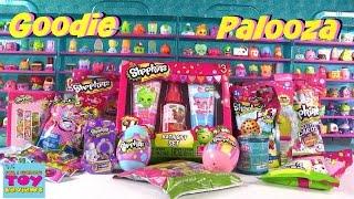 getlinkyoutube.com-Shopkins Goodie Palooza #6 | Plush Hangers Magnets Food Fair Season 1 2 3 4 Unboxing | PSToyReviews