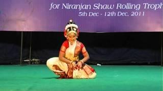 getlinkyoutube.com-Twice All India 1st Prize Winner Alekhya Ennamsetty's Kuchipudi Performance