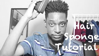 getlinkyoutube.com-How To Use A Curls / Twist Sponge Tutorial | WINSTONEE