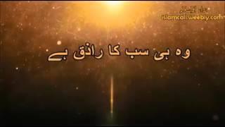 Allah hi Raziq Ha, Tm Yakin waly to Bano, Molana Tariq Jameel