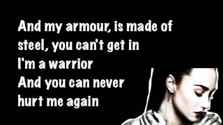 getlinkyoutube.com-Demi Lovato Warrior Lyrics