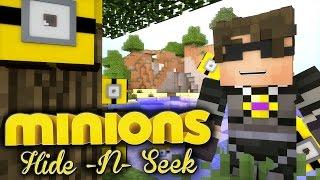 getlinkyoutube.com-Minecraft MINIONS HIDE N SEEK 4! /w Facecam!