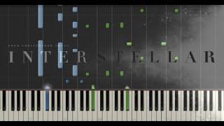 getlinkyoutube.com-Interstellar - Main Theme - Hans Zimmer (Synthesia Piano Tutorial)