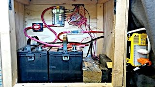 Van Life: Campervan/RV Electrical System Explained - Battery Bank, Wire Gauge, Inverter, Solar ect.