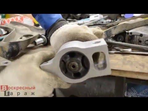 Замена консолей и сайлентблоков в рычагах передней подвески VW Tiguan