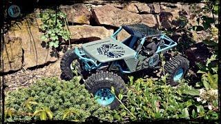 getlinkyoutube.com-Axial Wraith new tires RC4WD Interco Super Swamper 2.2 TSL/Bogger