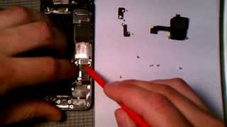 getlinkyoutube.com-How to fix the iPhone 5 Charging Port in 5 Minutes