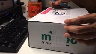 getlinkyoutube.com-au回線 格安SIM mineo SIMカード 開封動画編