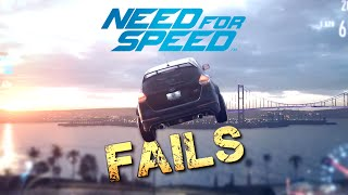 NEED FOR SPEED (2015) FAIL Compilation