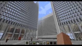 getlinkyoutube.com-Minecraft - World Trade Center Tribute