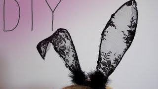 getlinkyoutube.com-DIY Lace Bunny Ears