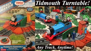 getlinkyoutube.com-Thomas and Friends Toy Train Expansion Pack-Trackmaster Tidmouth Turntable!